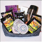 Fair Trade Cookie and Coffee Gift Basket