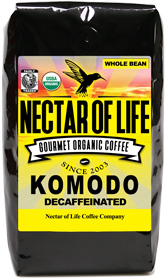 Komodo Swiss Water Organic Decaf.