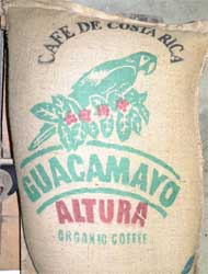 Costa Rican Organic Coffee