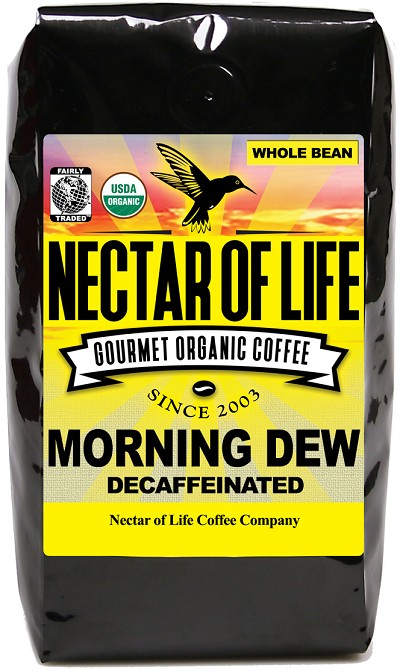 Morning Dew Swiss Water Decaffeinated