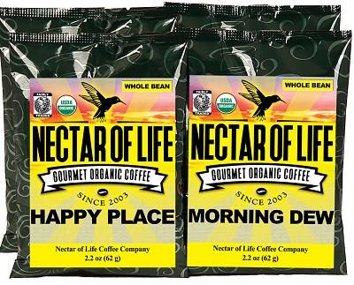 Gourmet Organic Coffee Sampler