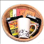 Fair Trade Coffee and Tea Gift Basket