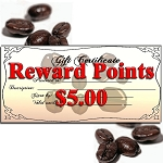 Gift Certificate for Reward Points