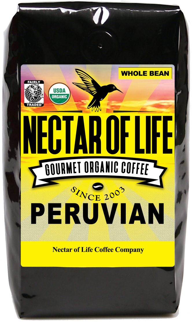 Peru Norte A Light Roasted Organic Fair Trade Peruvian