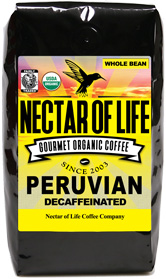 Peru Swiss Water Organic Decaf.